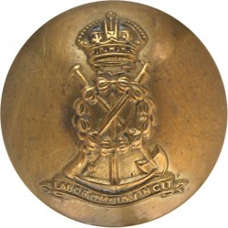 Royal Pioneer Corps 26mm - 1940-1952 with King's Crown. Brass Military uniform button