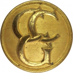 Control Commission Germany 23.5mm  Gilt Military uniform button