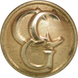 Control Commission Germany 17mm  Gilt Military uniform button