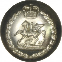 Fusilier Brigade - 1961-1963 19mm - Gold Colour with Queen Elizabeth's Crown. Anodised Staybrite military uniform button