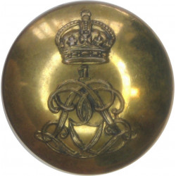 1st Life Guards 19.5mm - 1902-1922 with King's Crown. Brass Military uniform button