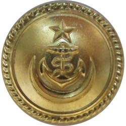 Pakistan Navy 23.5mm  Gilt Military uniform button