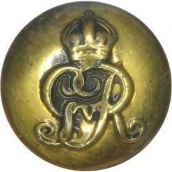 Corps Of Military Police - GvR 16mm with King's Crown. Brass Military uniform button