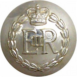 Royal Military Police 25.5mm - Gold Colour with Queen Elizabeth's Crown. Anodised Staybrite military uniform button