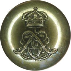 1st Life Guards 18.5mm - Pre-1902  Gilt Military uniform button