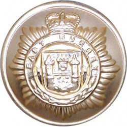 King's Regiment (Manchester & Liverpool) 26mm - Gold Colour Anodised Staybrite military uniform button