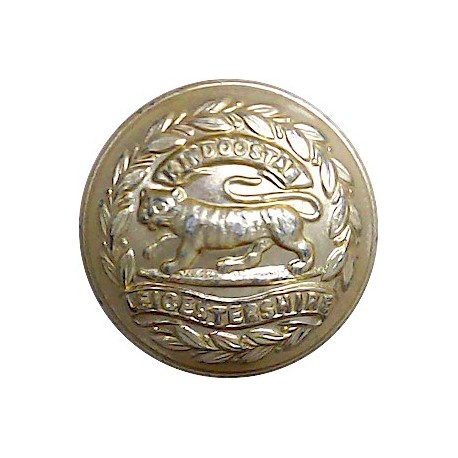 Queen's Own Cameron Highlanders 25mm - Gold Colour with King's Crown. Anodised Staybrite military uniform button