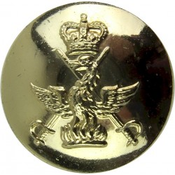 Gordon Highlanders 25.5mm - Gold Colour Anodised Staybrite military uniform button