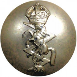 Duke Of Edinburgh's Royal Regiment 19.5mm - Gold Colour  Anodised Staybrite military uniform button