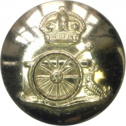 Royal Anglian Regiment (Tiger In Oval Wreath) 25.5mm - Gold Colour Anodised Staybrite military uniform button