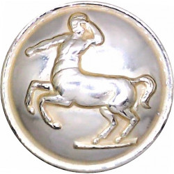 Royal Army Veterinary Corps 26mm - Gold Colour  Anodised Staybrite military uniform button