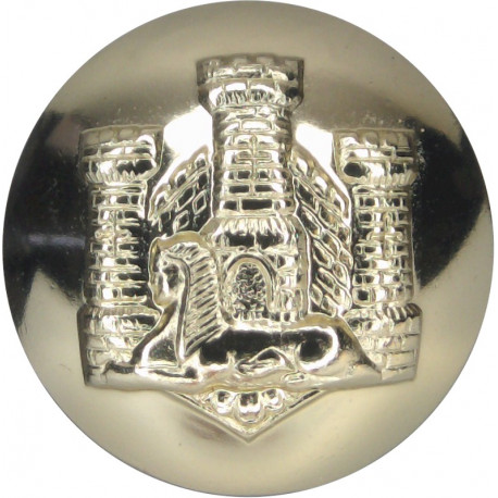 Home Counties Brigade 14mm - Gold Colour  Anodised Staybrite military uniform button