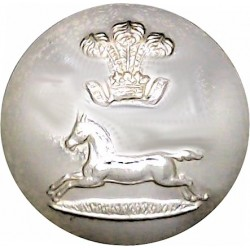 Prince Of Wales's Own Regiment Of Yorkshire 25mm - Gold Colour  Anodised Staybrite military uniform button