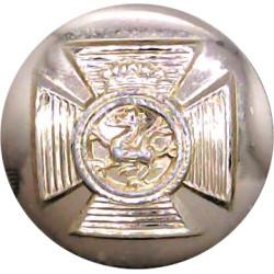 Duke Of Edinburgh's Royal Regiment 19.5mm - Gold Colour  Anodised Staybrite military uniform button
