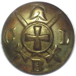 Church Lads' Brigade 24mm  Brass Military uniform button