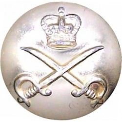 Royal Army Dental Corps 14.5mm - Gold Colour with Queen Elizabeth's Crown. Anodised Staybrite military uniform button