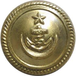 Pakistan Navy 19.5mm  Gilt Military uniform button