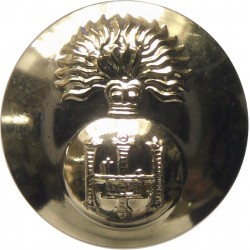 Royal Highland Fusiliers 19mm - Gold Colour with Queen Elizabeth's Crown. Anodised Staybrite military uniform button