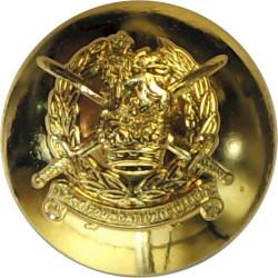 Army Foundation College (Harrogate) 14.5mm - Post-1999  Gilt Military uniform button