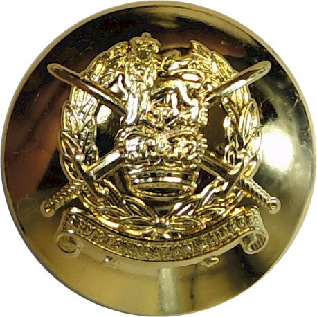 Army Foundation College (Harrogate) 19.5mm - Post-1999  Gilt Military uniform button