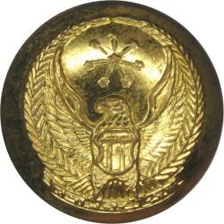 Abu Dhabi Defence Force (Hawk With Stars) 16.5mm  Gilt Military uniform button