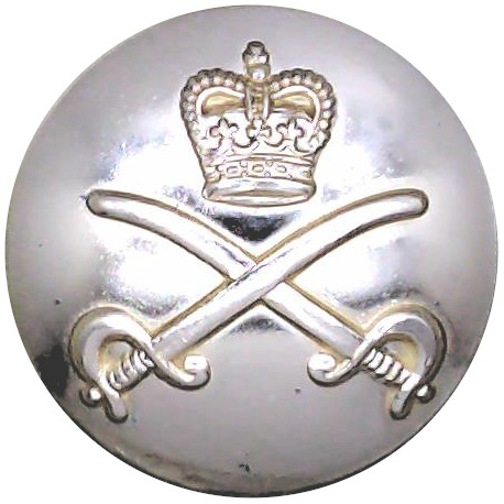 5th Royal Inniskilling Dragoon Guards 25.5mm - Gold Colour  Anodised Staybrite military uniform button
