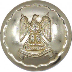 Royal Pioneer Corps - 1953-1985 26mm - Gold Colour with Queen Elizabeth's Crown. Anodised Staybrite military uniform button