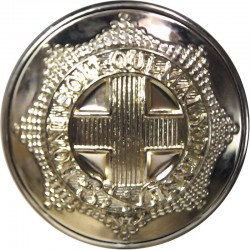Coldstream Guards 25.5mm - Gold Colour  Anodised Staybrite military uniform button