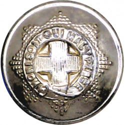 Royal Engineers 19.5mm - Screw-Fit with Queen Elizabeth's Crown. Anodised Staybrite military uniform button
