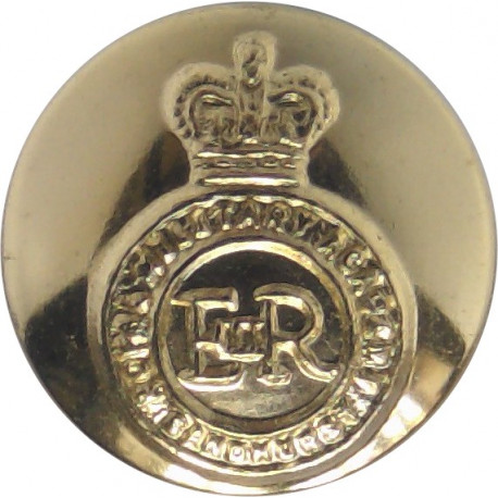 Queen's Gurkha Engineers 19.5mm - Gold Colour Anodised Staybrite military uniform button