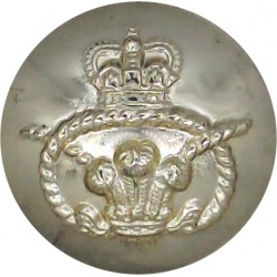 Royal Dragoons (1st Dragoons) 24mm - Gold Colour with King's Crown. Anodised Staybrite military uniform button