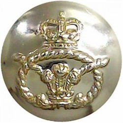 Royal Anglian Regiment 1964-1970 (Star) 25.5mm - Gold Colour Anodised Staybrite military uniform button