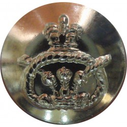 East Lancashire Regiment 18.5mm - Gold Colour  Anodised Staybrite military uniform button