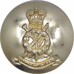 Worcestershire Regiment - Pre-1970 25.5mm - Gold Colour Anodised Staybrite military uniform button