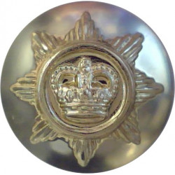 Queen Alexandra's Royal Army Nursing Corps 22.5mm - Gold Colour with Queen Elizabeth's Crown. Anodised Staybrite military unifor