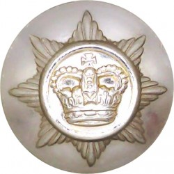 Royal Corps Of Transport 25.5mm - Gold Colour with Queen Elizabeth's Crown. Anodised Staybrite military uniform button