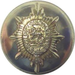 Worcestershire Regiment - Pre-1970 25.5mm - Gold Colour  Anodised Staybrite military uniform button
