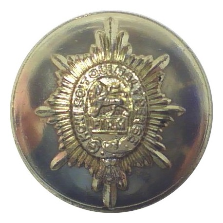 Royal Marines 17.5mm - Gold Colour with Queen Elizabeth's Crown. Anodised Staybrite military uniform button