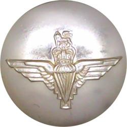 Parachute Regiment 25.5mm - Gold Colour with Queen Elizabeth's Crown. Anodised Staybrite military uniform button