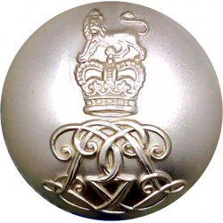 Life Guards 25mm - Gold Colour with Queen Elizabeth's Crown. Anodised Staybrite military uniform button
