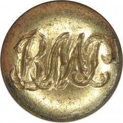 Basutoland Mounted Police (now Lesotho) 14.5mm  Gilt Police or Prisons uniform button