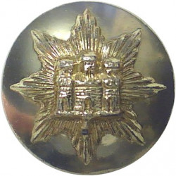 Royal Anglian Regiment 1964-1970 (Star) 19.5mm - Gold Colour  Anodised Staybrite military uniform button