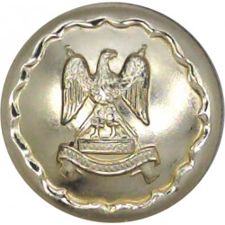 Royal Scots Dragoon Guards 19mm - Gold Colour  Anodised Staybrite military uniform button