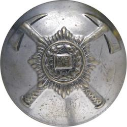 British Fire Services Association 25mm  Chrome-plated Fire Service uniform button