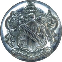 Bolton Fire Brigade - Supera Moras 16.5mm - 1947-1974  Chrome-plated Fire Service uniform button