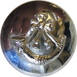 Light Infantry - Post-1959 14mm Silver Colour  Anodised Staybrite military uniform button