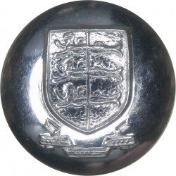 Great Yarmouth Fire Brigade 16.5mm  Chrome-plated Fire Service uniform button