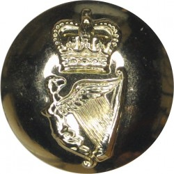 Inns Of Court & City Yeomanry  (Spur) - Post-1961 26mm - Gold Colour  Anodised Staybrite military uniform button