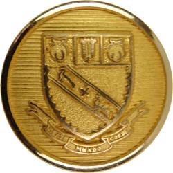 Lancing College - Beati Mundo Corde 20.5mm  Gilt Civilian uniform button