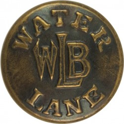 Workwear Button - Water Lane Brand 19mm  Brass Civilian uniform button